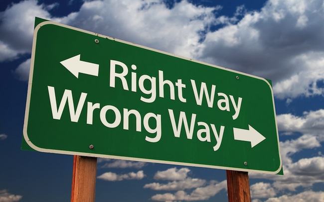 Doing the Right Thing the Wrong Way