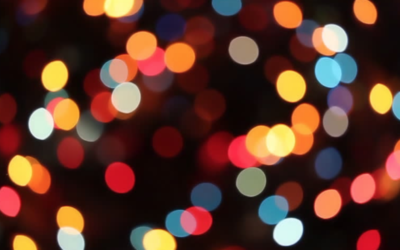Blurry Lights – Grief and the Holidays