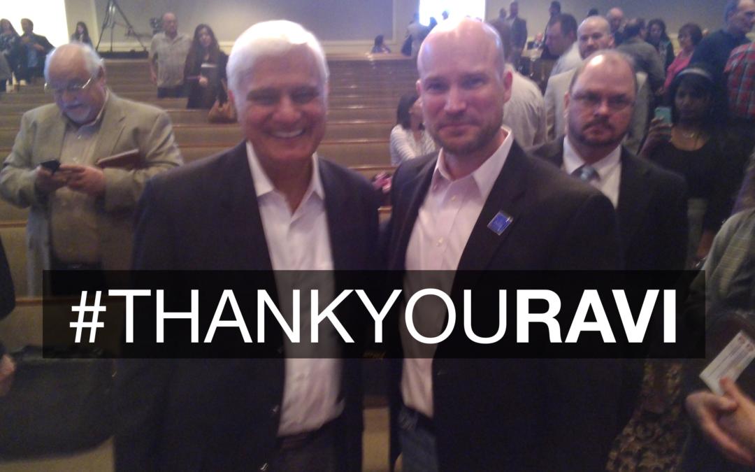 Thank You Ravi – A Story